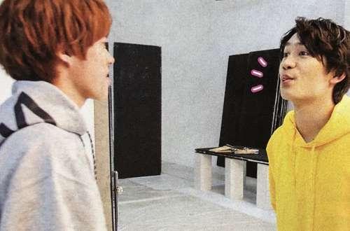 丈橋のキス画像(TVガイド2019年5/31号)2