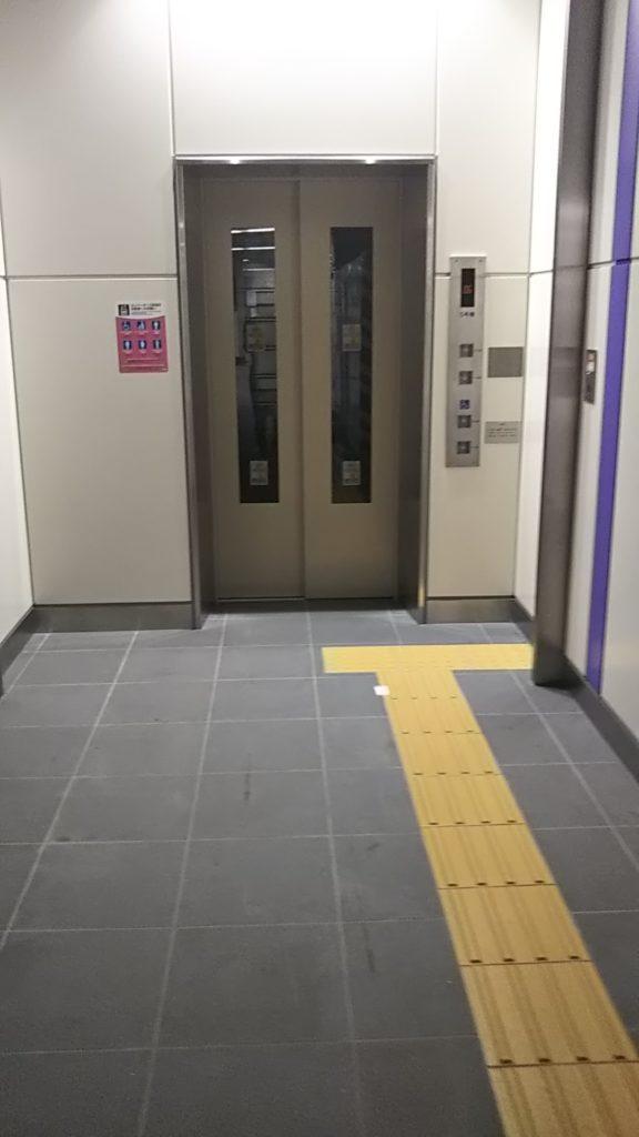東京メトロ半蔵門線永田町駅のエレベーター工事が終了
