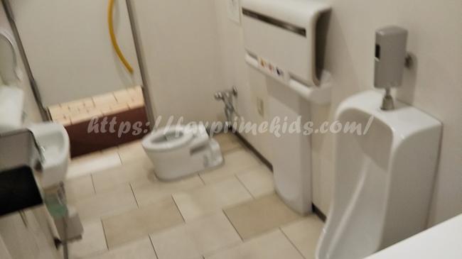 東京ドームシティ(ラクーア)のキッズトイレの場所