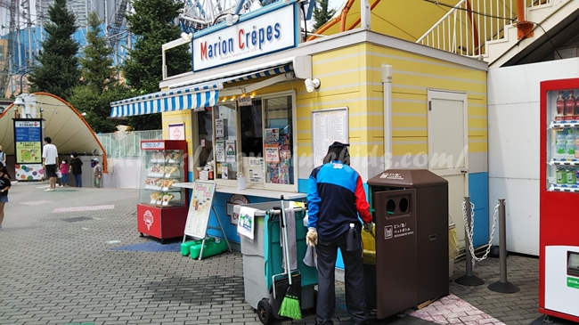 バイキングゾーンの授乳室~東京ドームシティアトラクションエリア~