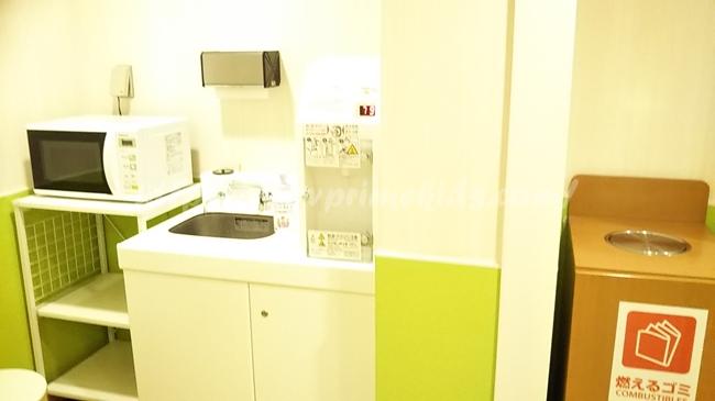 ラクーアショッピングエリアの授乳室