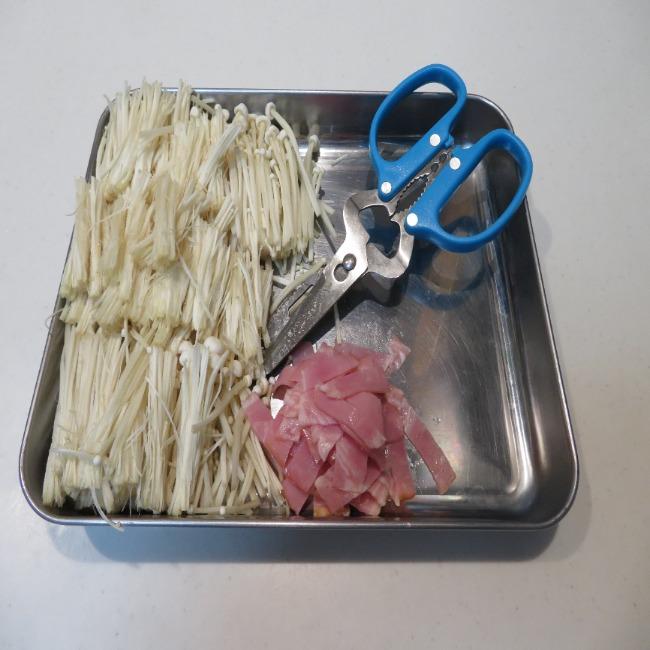山本ゆりさんの『カリとろ!ベーコンチーズえのき』の作り方・レシピ1