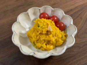 Yuuさんの『かぼちゃと玉ねぎのデリ風サラダ』を作ってみました!