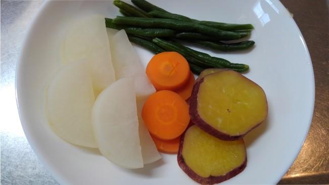 ラク速レシピゆかりさんの『蒸し器いらず!フライパン温野菜』を作ってみた (4)