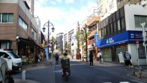 飯田橋駅から手越ビューティーサロン(TEGOSHI BEAUTY SALON)へのアクセス