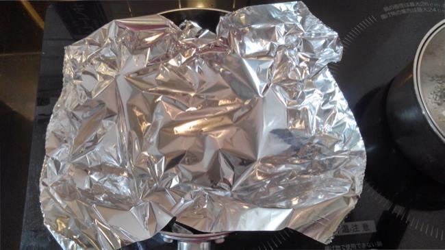 ラク速レシピゆかりさんの『蒸し器いらず!フライパン温野菜』を作ってみた (1)