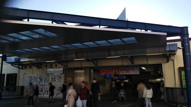 川口駅からTEGOSHI BEAUTY SALON川口キャスティ店へのアクセス(行き方) (1)