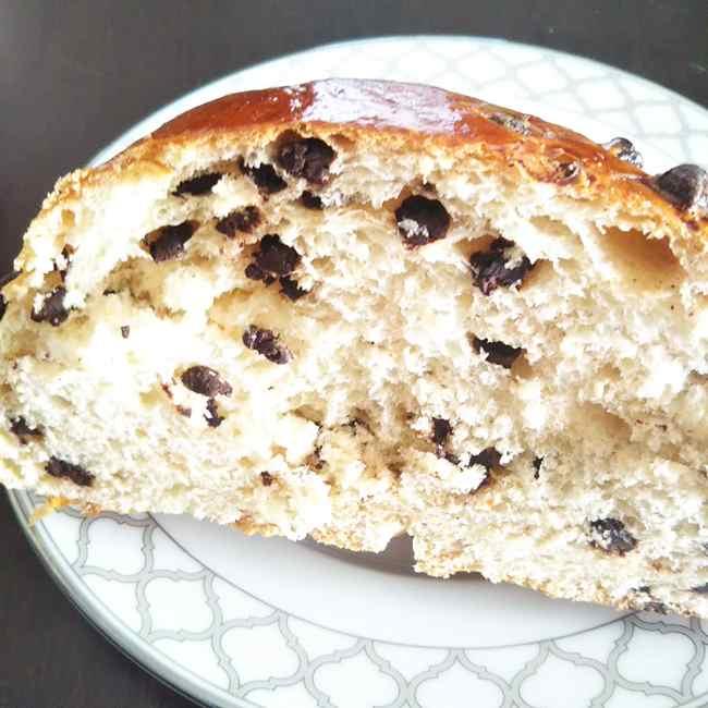 神楽坂オーメルベイユのパン クラミックチョコチップ