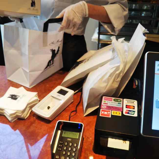 神楽坂オーメルベイユでテイクアウト電子マネーやクレジットカードも使える