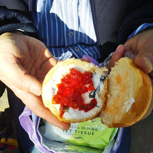 神楽坂オー メルヴェイユ ドゥ フレッドのパンメニューと値段サンドイッチ (7)