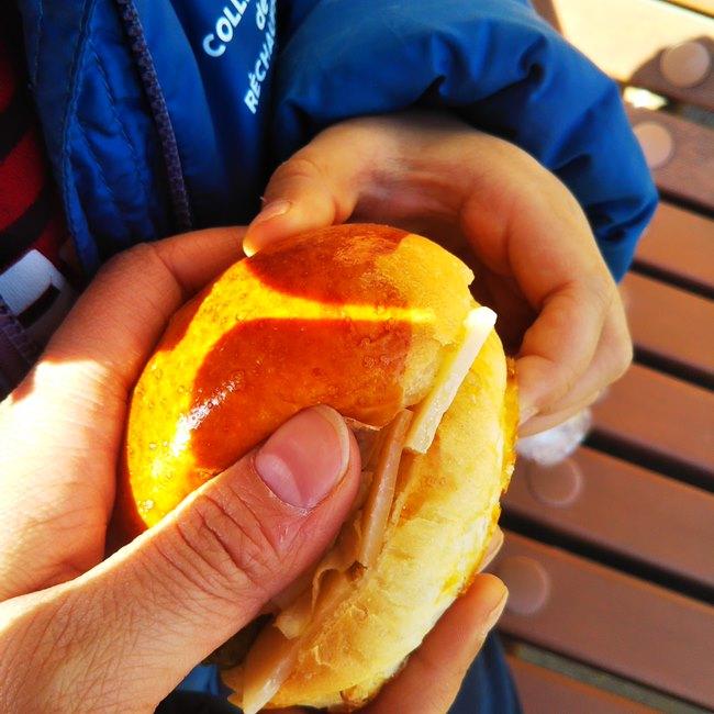 神楽坂オー メルヴェイユ ドゥ フレッドのパンメニューと値段サンドイッチ (8)