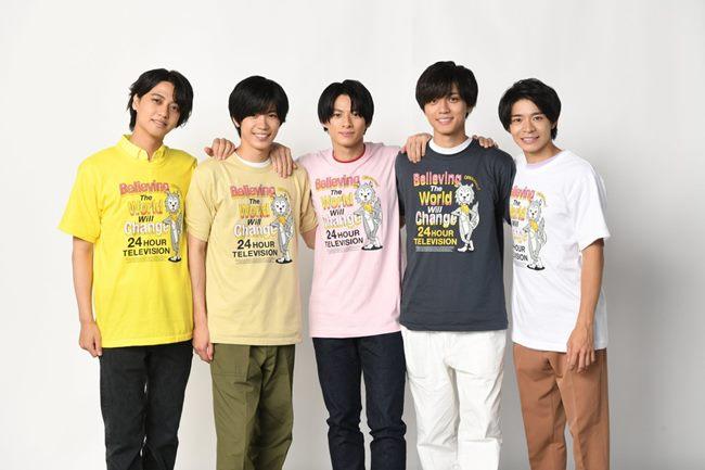 おもウルフTシャツ2021の色展開
